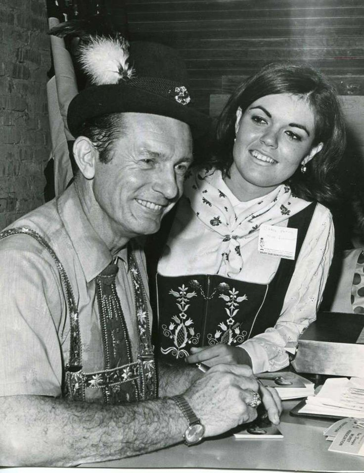 Myron Floren of the Lawrence Welk Band first attends Wurstfest in 1968. Photo: San Antonio Express-News