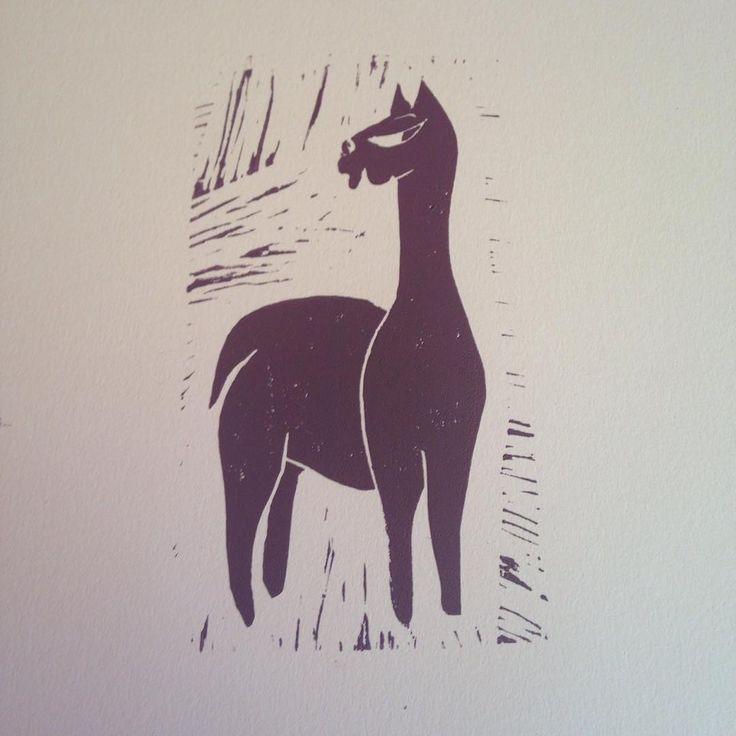 The Alpaca Print