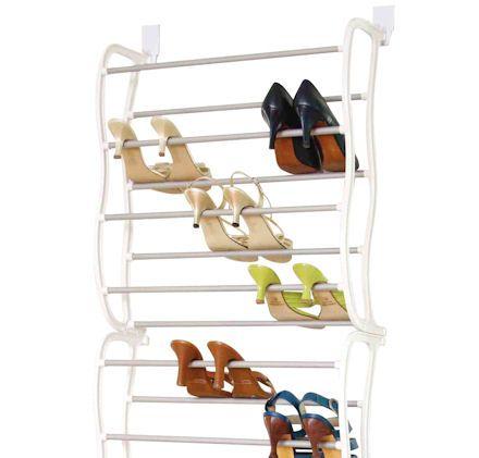 Over door Shoe Rack - Large - Shoe Racks | Shoe Storage Shelves | Boot Racks | Welly Stands