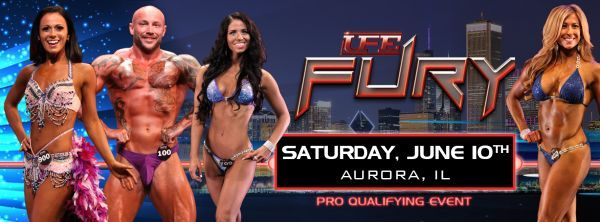 UFE Fury bodybuilding & fitness will be at Waubonsie Valley High School in Aurora, IL on Saturday, June 10, 2017. Tickets $20 - $60