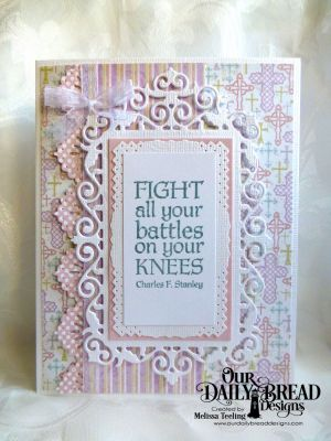 Our Daily Bread Designs Stamp Sets: Armor Of God, Our Daily Bread Designs Paper Collections: Easter Card 2016, Pastel, Our Daily Bread Designs Custom Dies: Beautiful Borders, Filigree Frames, Rectangles