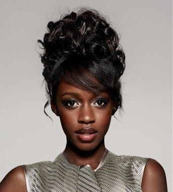 Fantastic 1000 Ideas About Black Hairstyles Updo On Pinterest Natural Hairstyle Inspiration Daily Dogsangcom