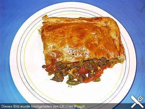 Pastete mit Rindfleisch für  'Rolli' kreiert