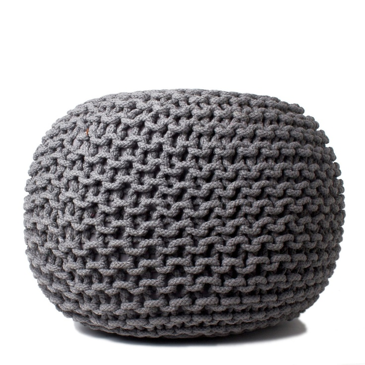 Knitting Pattern For Round Pouf : Pin by Cocoo Olive Y on For the Home Pinterest