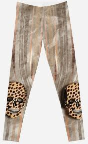 SKULL AFRICA 150. Leggings