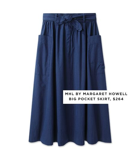 MHL by Margaret Howell Big Pocket Skirt