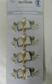 Creative Accessories Motif - Chalices/Bibles - 4.50EUR - Craft Heaven : Craft supplies, Cakeware, Crystals & Angels