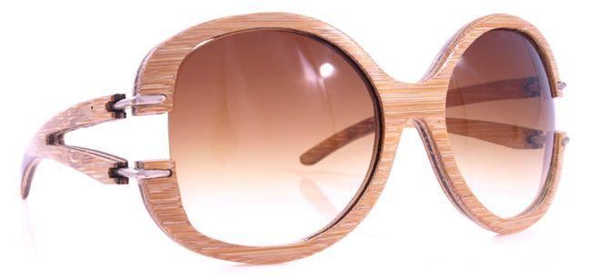 artesania gafas, marco trabajado en guadua