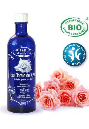 Eau florale de rose Kart Laboratoires