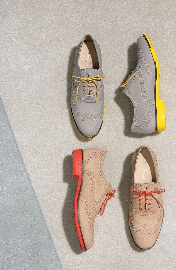 Yes to bright oxfords! Cole Haan Gramercy Oxford--- need these!
