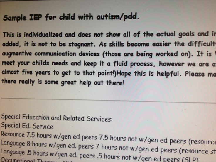 Best Iep Images On   Autism School Stuff And