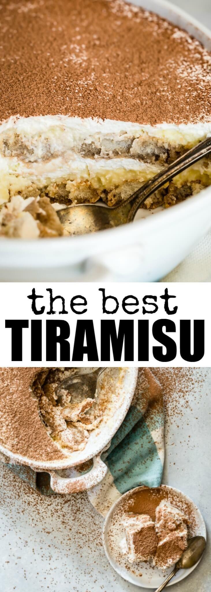 Recreate the classic Italian dessert at home with… #tiramisu #italiandessert #dessert #culinaryhill