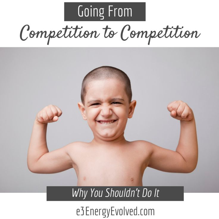 "Often times, athletes come off a competition wondering why they fall into a tailspin of depression and ""emotional lack syndrome,"" as we call it. Learn why ---> http://e3energyevolved.com/why-you-shouldnt-be-going-from-competition-to-competition/"
