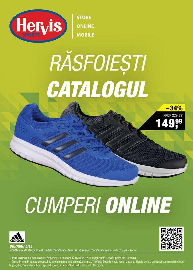 Catalog Hervis Sports Oferte Online 06-16 Aprilie 2017! Oferte si recomandari: Adidas Duramo Lite incaltaminte de alergare pentru adulti 149,99 lei