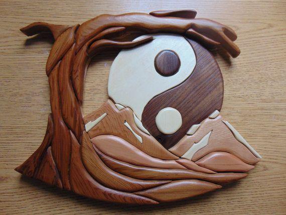 17 meilleures idées à propos de Intarsia Wood Patterns sur