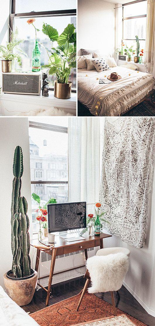 urban outfitter's decor inside blogger tessa baton's nyc apartment / sfgirlbybay