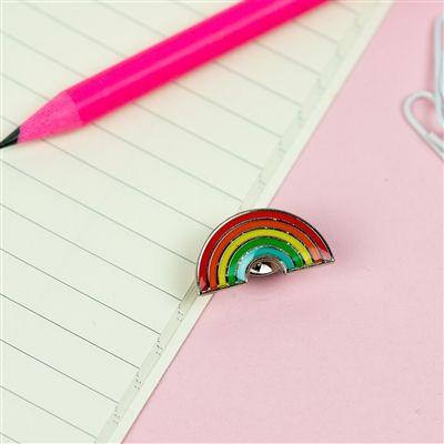 Somewhere over the? Rainbow Enamel Pin. #pingame #pingamestrong #enamelpin