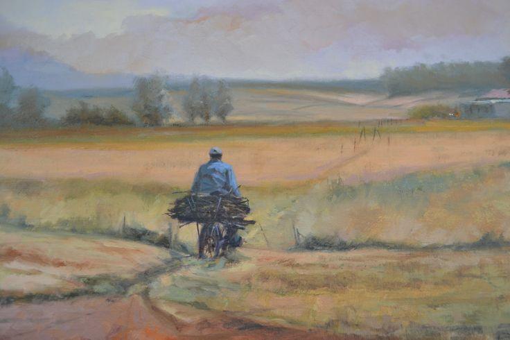 """Homeward bound"" -  Daniel Novela oil on canvas"