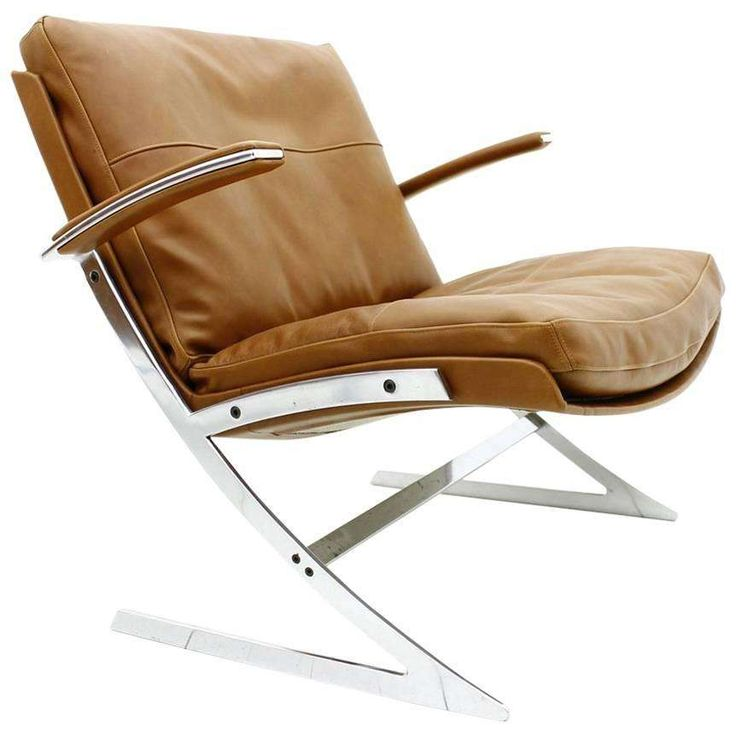 Rare Lounge Chair by Preben Fabricius for Arnold Exclusiv, 1972 1