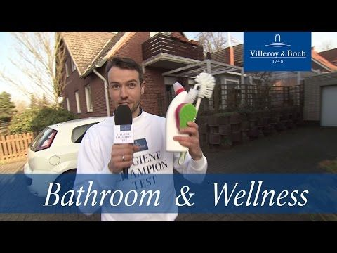 Our hygiene champion in every day testing | Villeroy & Boch - YouTube