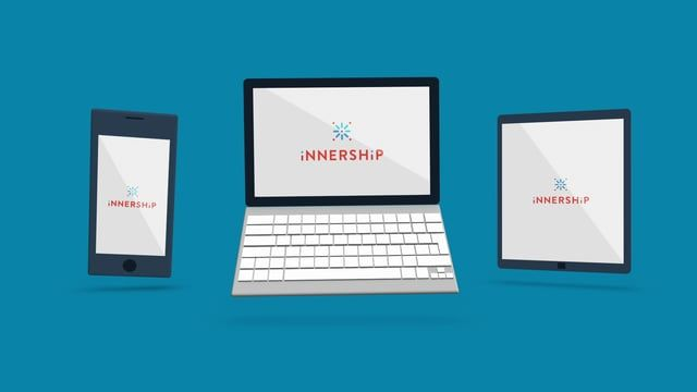 An introducing video I made for the innovative platform Innership, which brings keys to professional fulfillment.  ------------   Client : Innership Agency : Big Jack's Factory Graphic and motion designer : Malik Benaouda