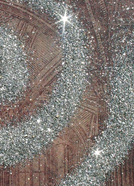 This glitter is stunning! It is REAL SILVER... made from the remnants of jewelry making. It is so fine and the sparkle is unreal!!