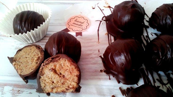 Diétás zserbó golyó - sütés nélküli diétás édesség