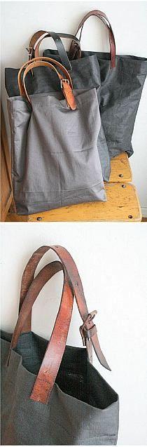 handle, old belt