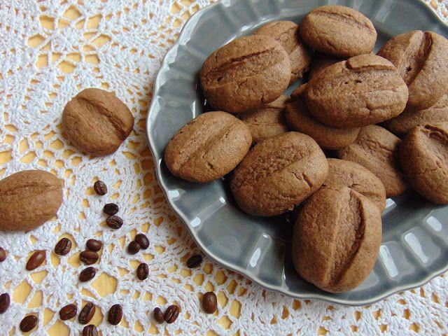 RADOŚĆ KIPIĄCA UŚMIECHEM.: Ciasteczka kawowe.
