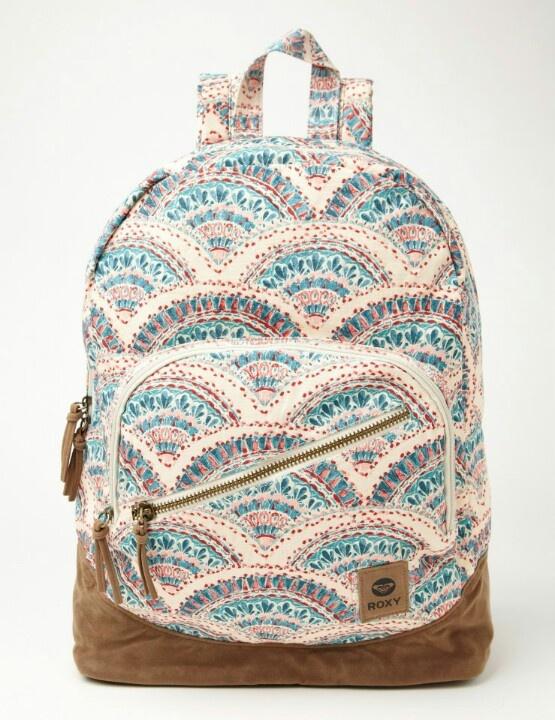 Roxy backpack / mochila