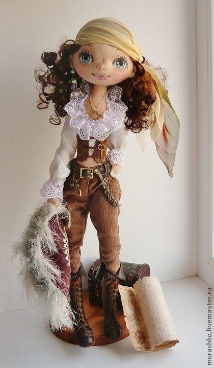 Коллекционные куклы ручной работы. Ярмарка Мастеров - ручная работа Пиратка Жанна. Handmade.