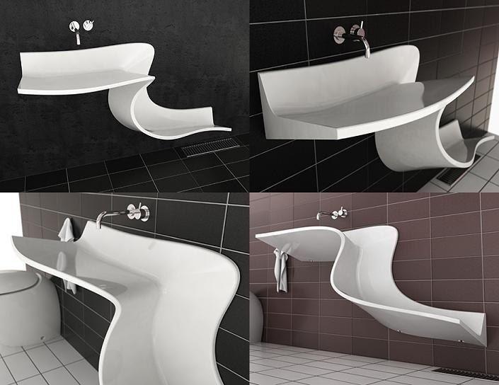 Дизайнерская #раковина  Для любителей нестандартных решений и уникальных предметов в интерьере! #новинка #сантехника #ванная #проект