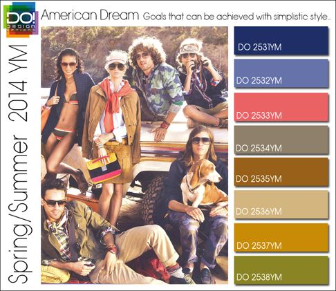 S/S 2014 Trends - American dreams