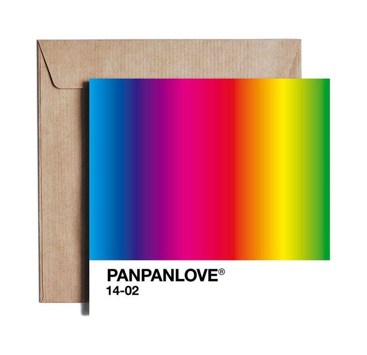 Kartka walentynkowa Panpanlove / PIESKOT #ladnerzeczy #targirzeczyladnych #ladnerzeczydziejasiewinternecie #polishdesign #design