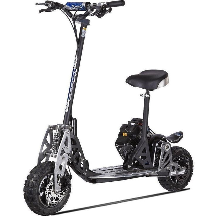 UberScoot 2X 50cc Gas Powered Folding Folding Scooter by Evo Powerboards