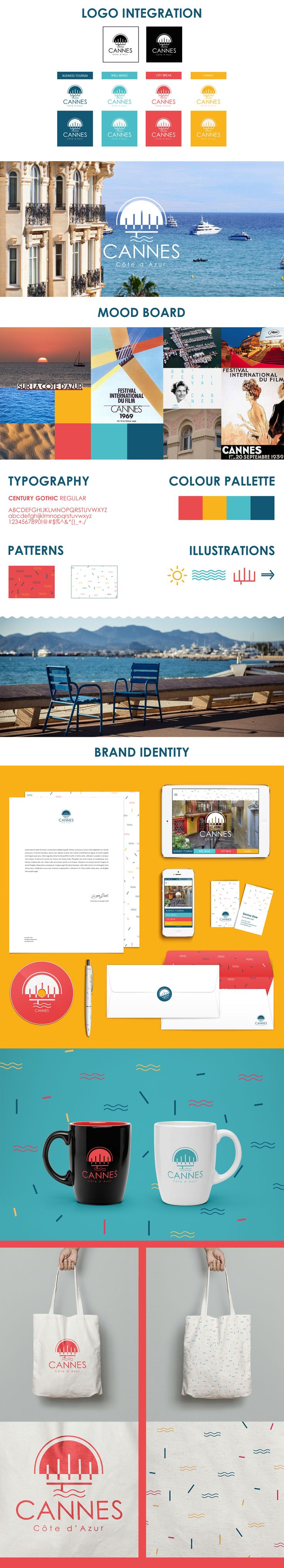 CANNES LIONS 2015 // Design // City Branding for Cannes on Behance