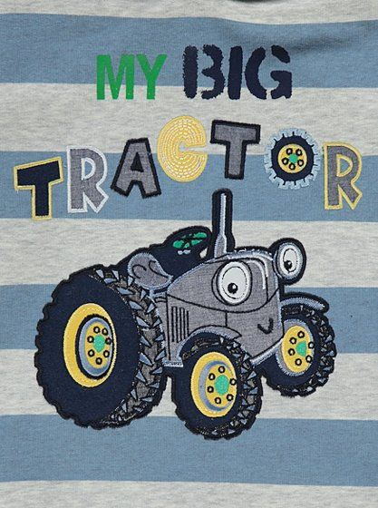 My Big Tractor Jumper, read reviews and buy online at George. Shop from our latest range in Kids. Keep them warm and cosy with this cotton rich creation, whi...