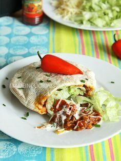 Pita au boeuf mexicain