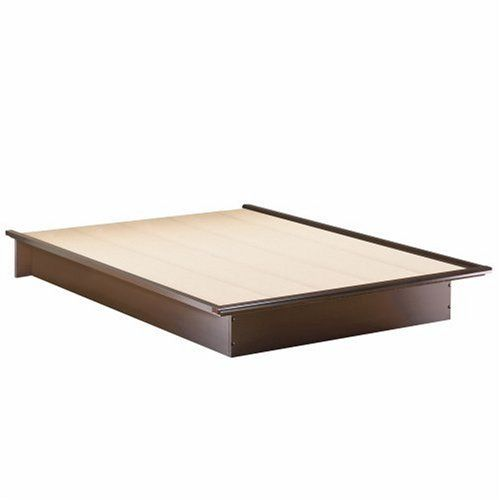Easy to put together, looks really good, and rather functional to sit there holding a mattress  South Shore Furniture Step One Collection Queen Platform Bed, Chocolate South Shore http://smile.amazon.com/dp/B000CPI74O/ref=cm_sw_r_pi_dp_7YyQub00YZ5TA