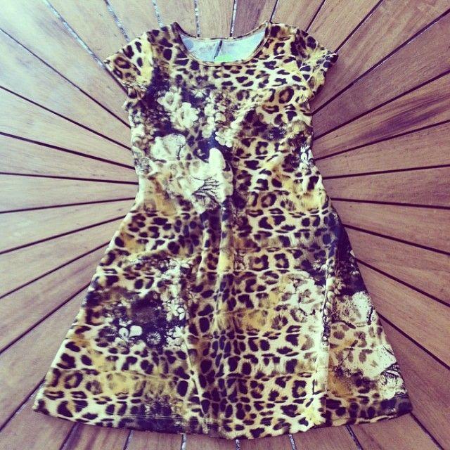 Vestido Animal Print! Lindo e confortável, para começar a semana com tudo! #nandamachado#outonoinverno#welove#fashion#arrasando