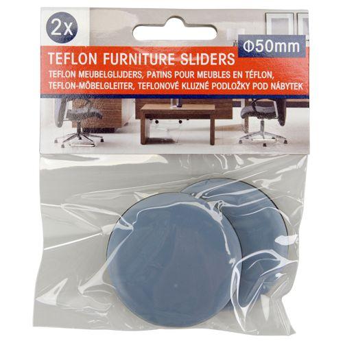 meubelglijders zelfklevend teflon div