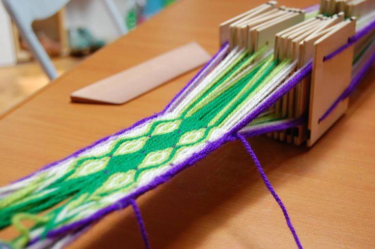 Tejido en telar egipcio  22 cartas