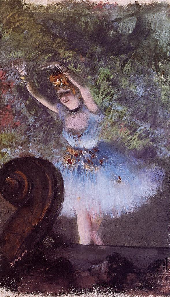 Dancer, 1877-1878 Edgar Degas - by style - Impressionism