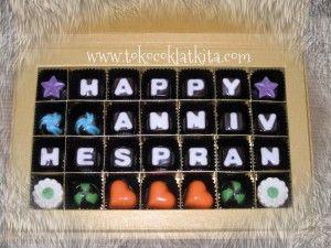 Praline Ucapan Gift Anniversary  Pemasanan Call/SMS 0821 35989577 atau Pin BB ; 29A432A
