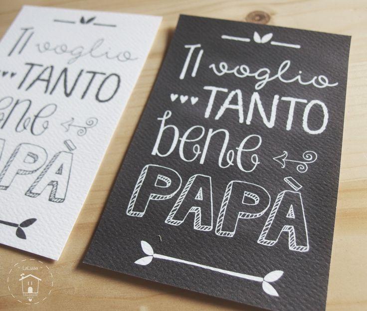 card regalo per la festa del papà free printable