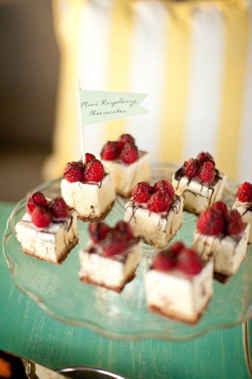 The Hottest 2015 Wedding Trend: 30 Delicious Mini Desserts | Weddingomania