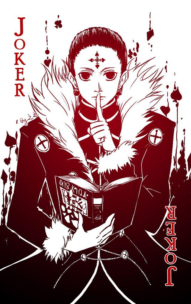 Joker Chrollo On Pixlr By Do Not Reprint Or Sell