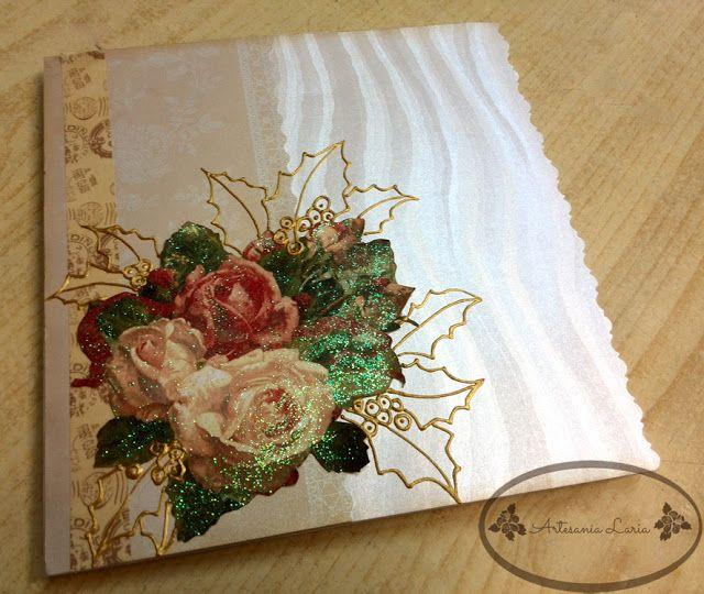 artesana laria tarjetas de navidad hechas a mano