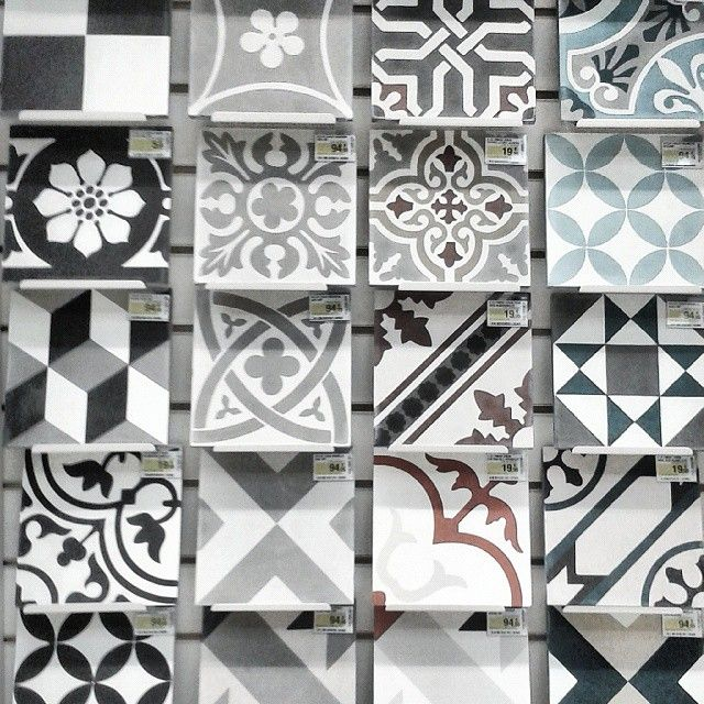 17 best images about deco carreaux de ciment on pinterest vinyls pip studi - Stickers imitation carrelage ...