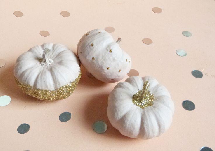 DIY Déco Halloween // Les Citrouilles Pailletées // La Fabrique Pailletée ♡